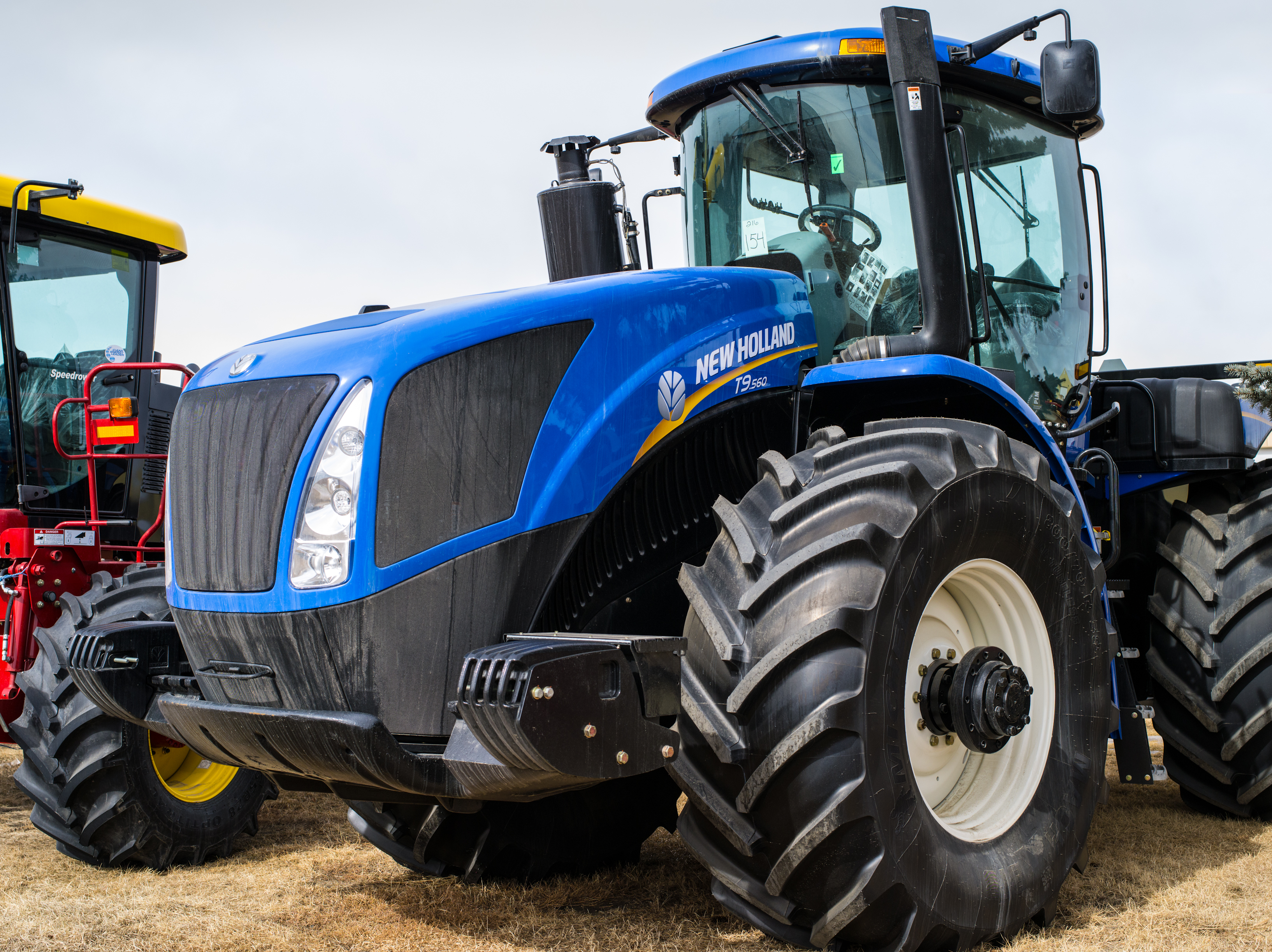 Blue Holland Tractors : New holland blue tractor linden ab a portrait of